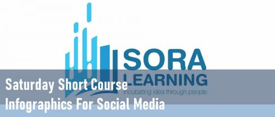 Saturday Short Course Infographics for Sosial Media Soralearning